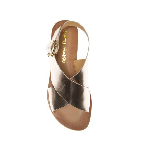 Beat Box crisscross laid-back sandal