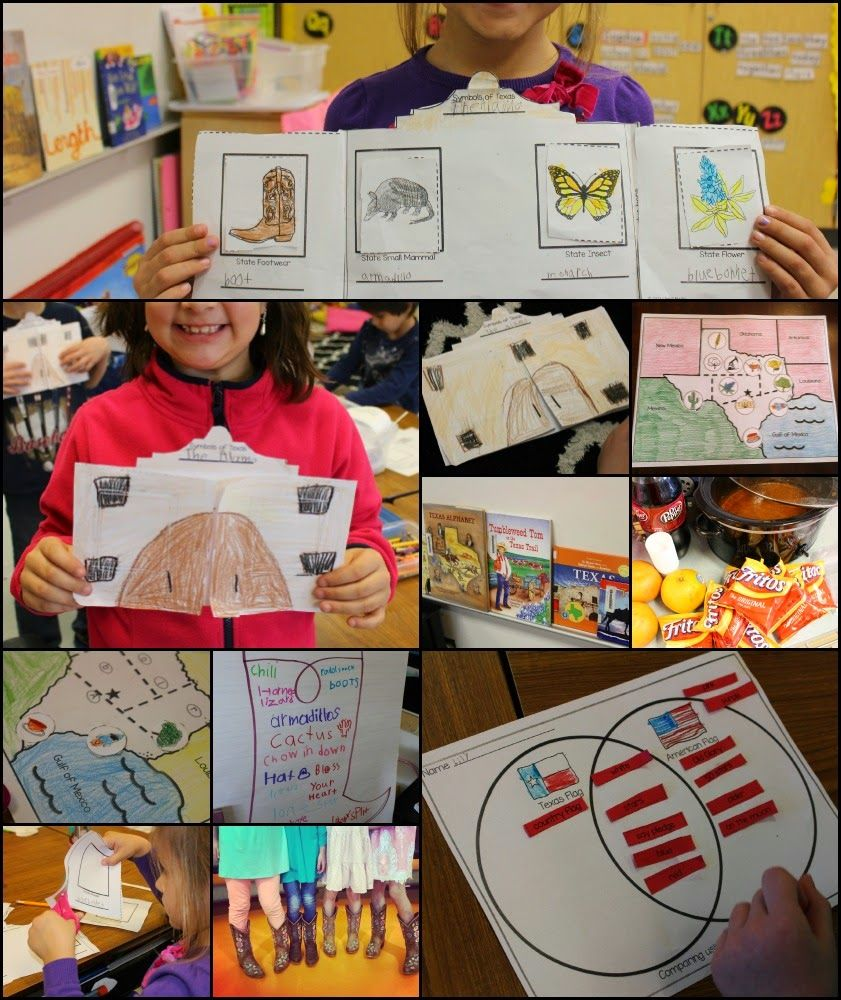 Yeehaw! In this Texas Unit, students learn Texas facts