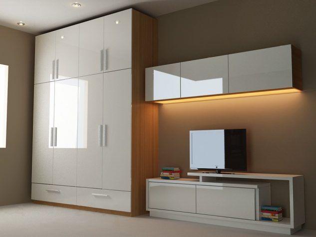 modern cabinet designs for bedroom