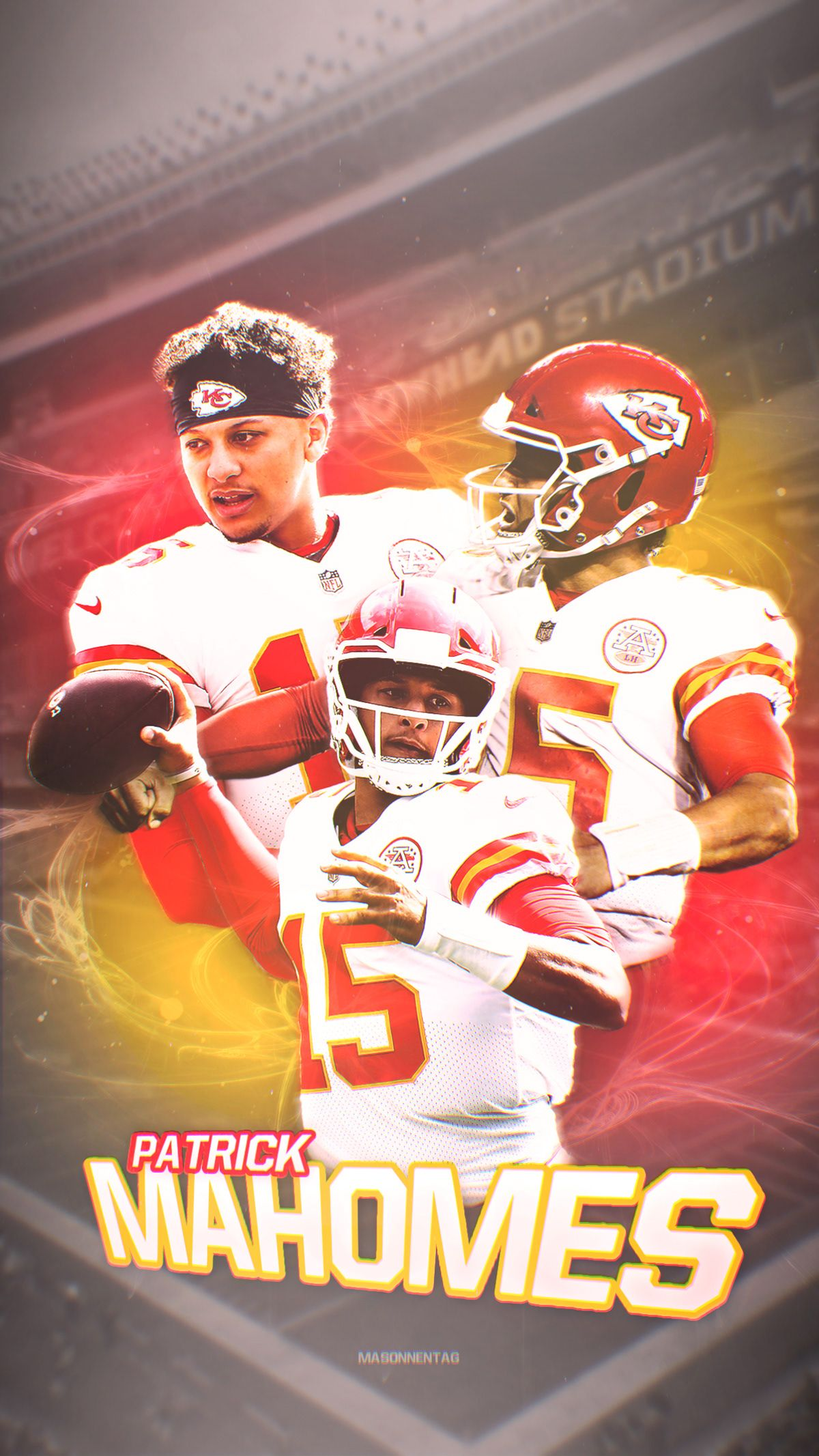 Patrick Mahomes Wallpaper On Behance Kansas City Chiefs Football Kc Chiefs Football Kansas City Chiefs