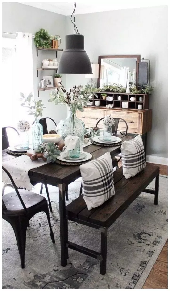 59 Creative Hobby Lobby Farmhouse Decor Ideas Farmhouse Dining Room Table Farmhouse Style Dining Room Farmhouse Dining Room