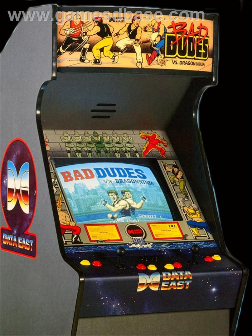 1942 Arcade Cabinet Bad Dudes Vs Dragonninja Arcade Cabinet Google Search Beat Em