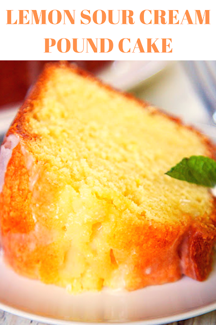 Pin By Mercedes Best Recipes On Cake Recipes Sour Cream Pound Cake Lemon Pound Cake Recipe Pound Cake Recipes