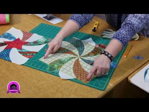 Sew Easy: Twisted Pinwheel Template - YouTube | Patchwork ... : make pinwheel quilt block - Adamdwight.com