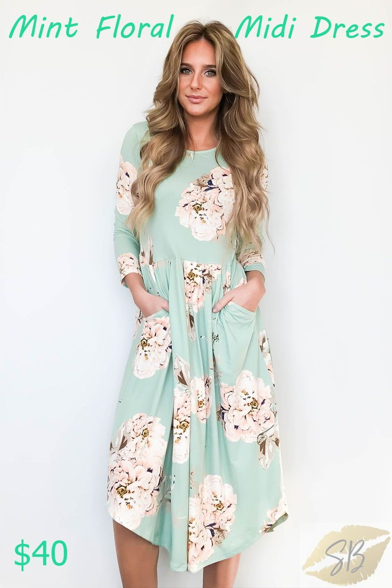 How Adorable Is This Dress Stephanie Boss Independent Stylist Key Words Floral Mi Easter Dresses For Women Online Clothing Boutiques Clothes For Women [ 1200 x 800 Pixel ]