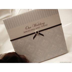 Hardcover wedding invitations