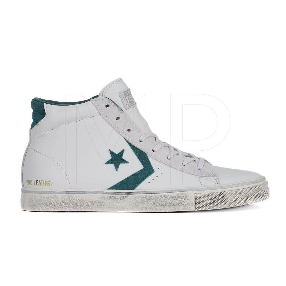8374c6769628f2 Shoes Converse Pro Leather Vulc Mid (White)