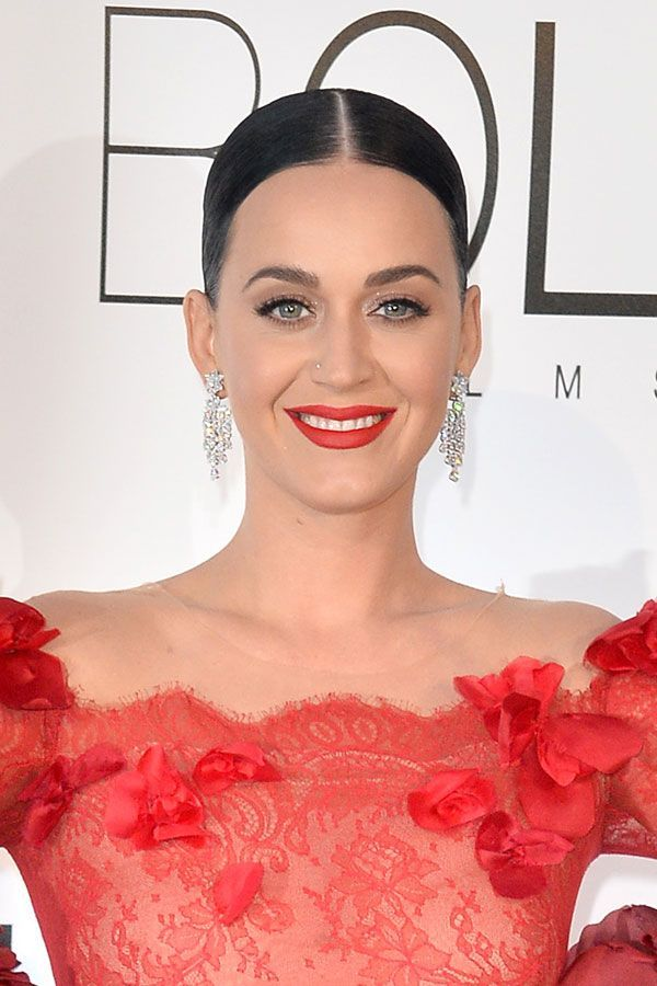 You HAVE To See Katy Perry's Beauty Evolution #refinery29  http://www.refinery29.com/2016/10/127194/katy-perry-best-hair-makeup-looks-photos#slide-30  At a dinner over the 2016 Cannes Film Festival weekend, Perry looked killer with a sleek, pulled-back updo and siren-red lips....