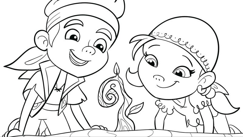 disney pirates coloring pages - photo#35