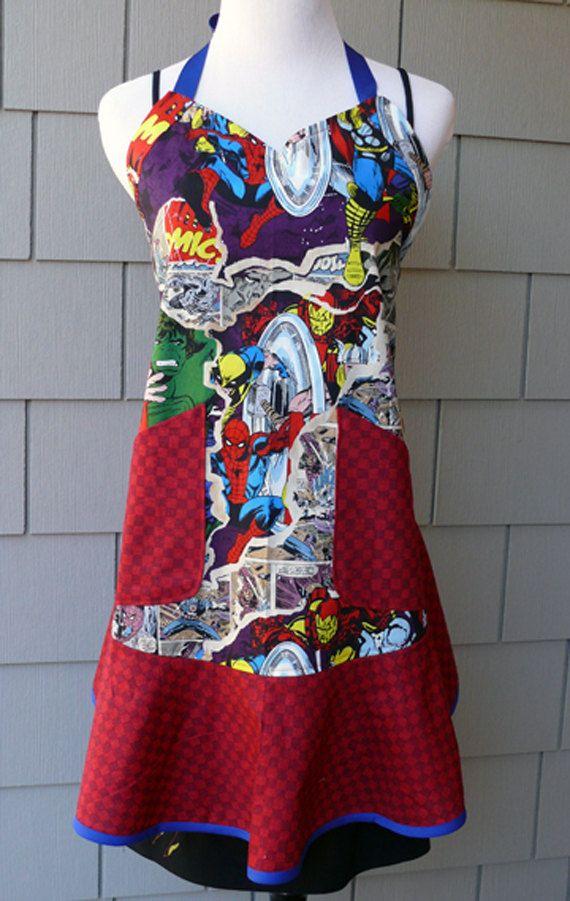 Avengers apron!!! <3