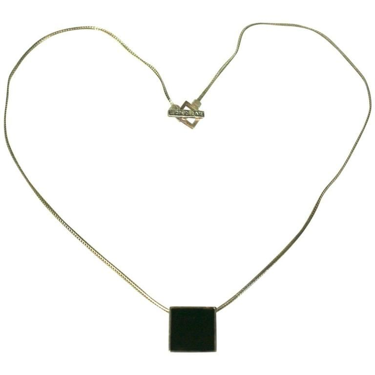 Hedi Slimane for Yves Saint Laurent Mens Necklace