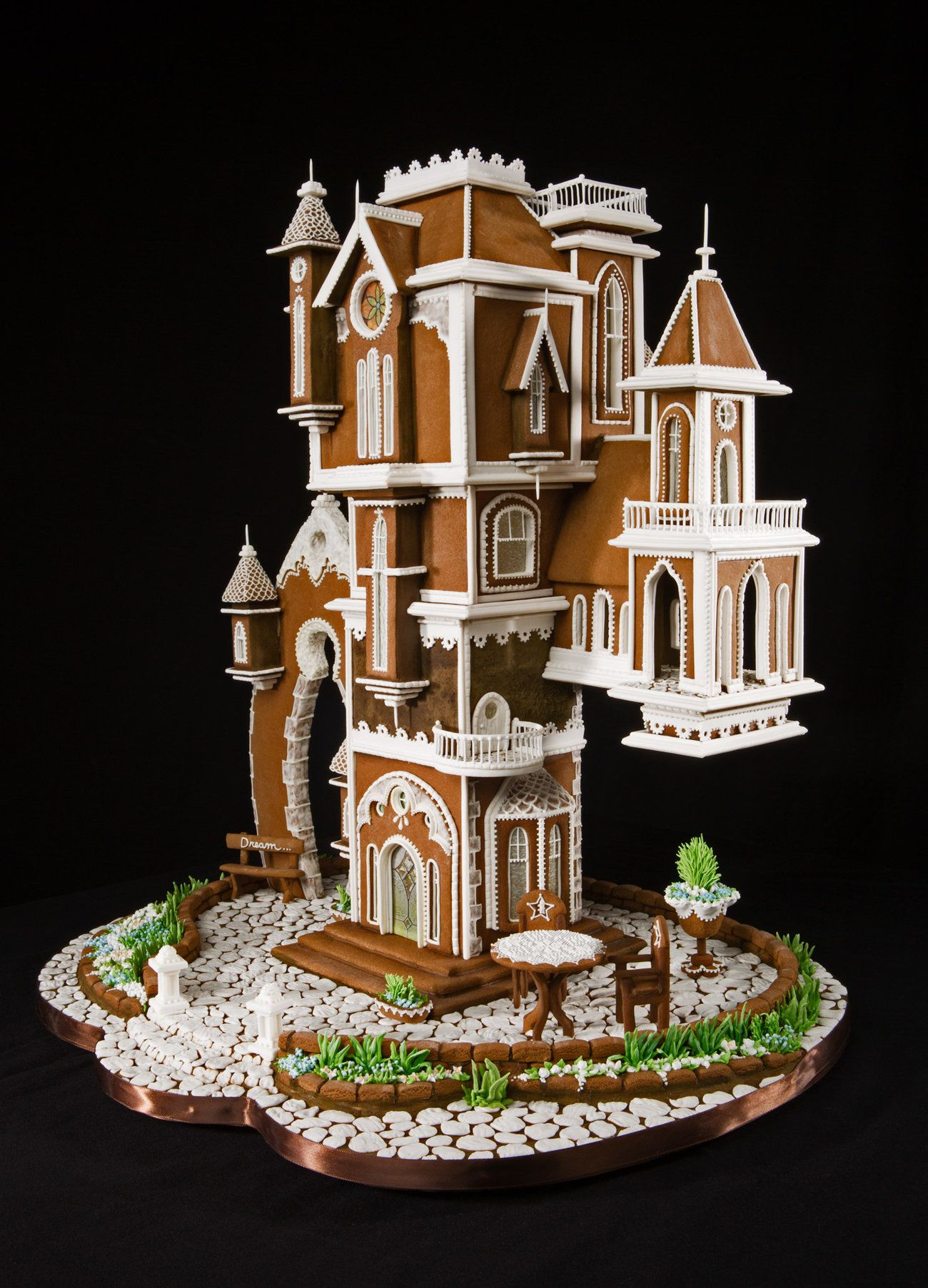 gothic gingerbread house template  These Elaborate Gingerbread Creations Prove That Baking Is ...