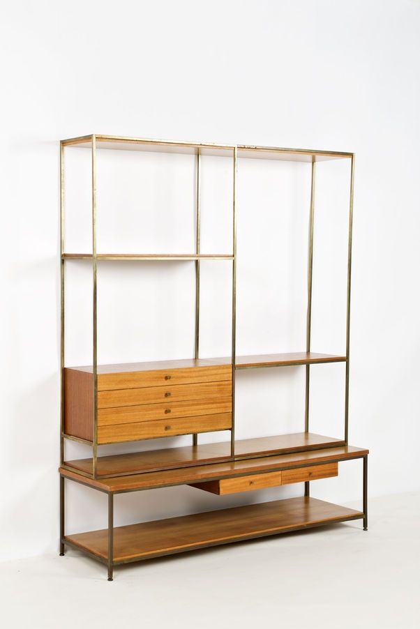 Paul McCobb Bibliotheque Bookcase / Shelving Unit
