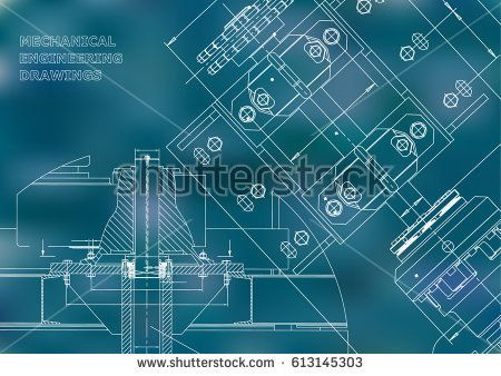 Blueprints mechanical construction technical design engineering blueprints mechanical construction technical design engineering cover banner blue bubushonok malvernweather Images