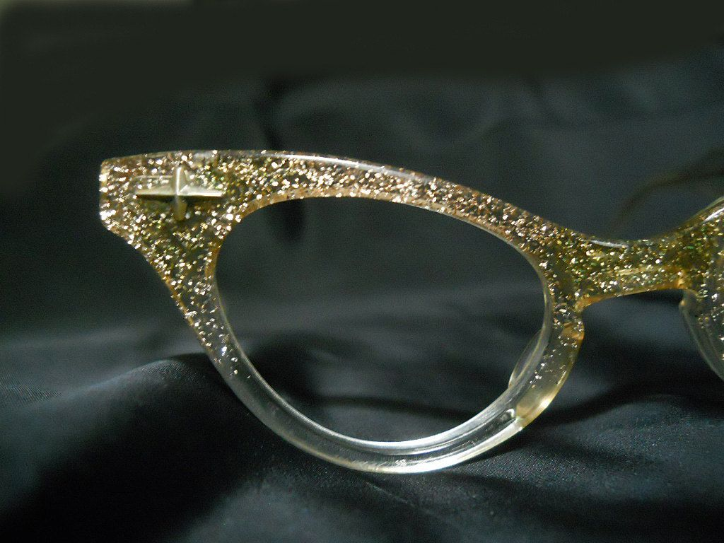 Vintage Cat Eye Glasses 1950s Lucite Cateye by LunaJunction, $95.00 ...