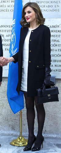 2 Dec 2016 - Queen Letizia attends FAO food and nutrition conference in Rome, Italy. Click to read more