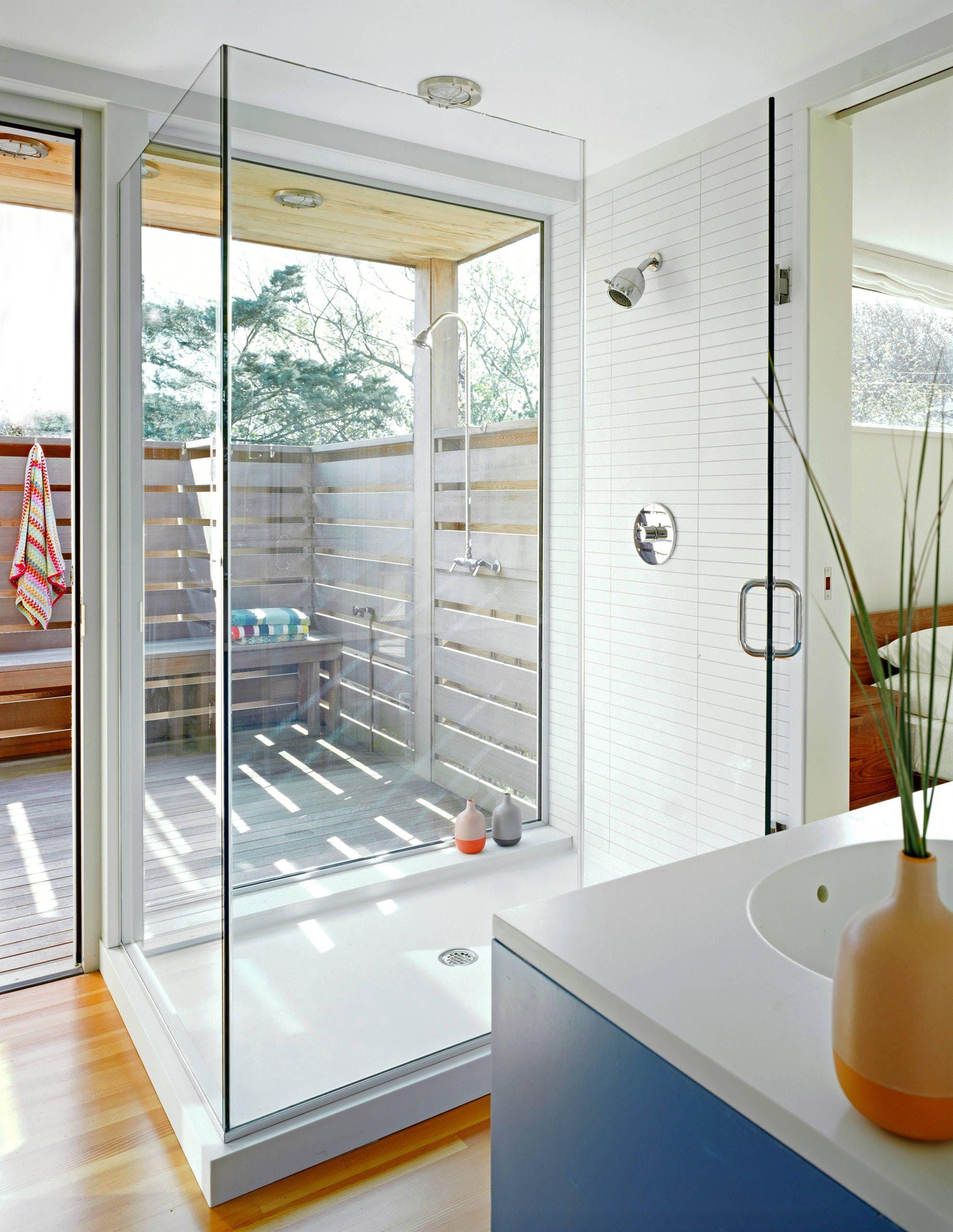 13 Beautiful Indoor/Outdoor Bathrooms | For The Home | Pinterest ...