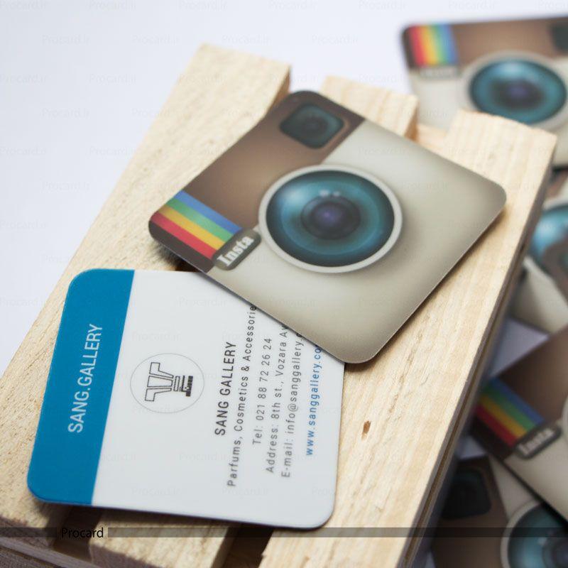 Instagram business card design print online printing card business instagram business card design print online printing card business card reheart Images