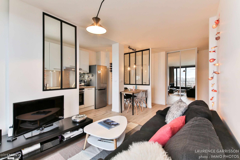 Little Loft Boulogne 43m², Laurence Garrisson - Côté Maison   Idées ...