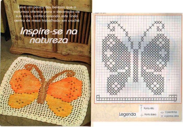 TAPIS-ALFOMBRA-CROCHET (20) | blusas crochet | Pinterest | Ideas de ...
