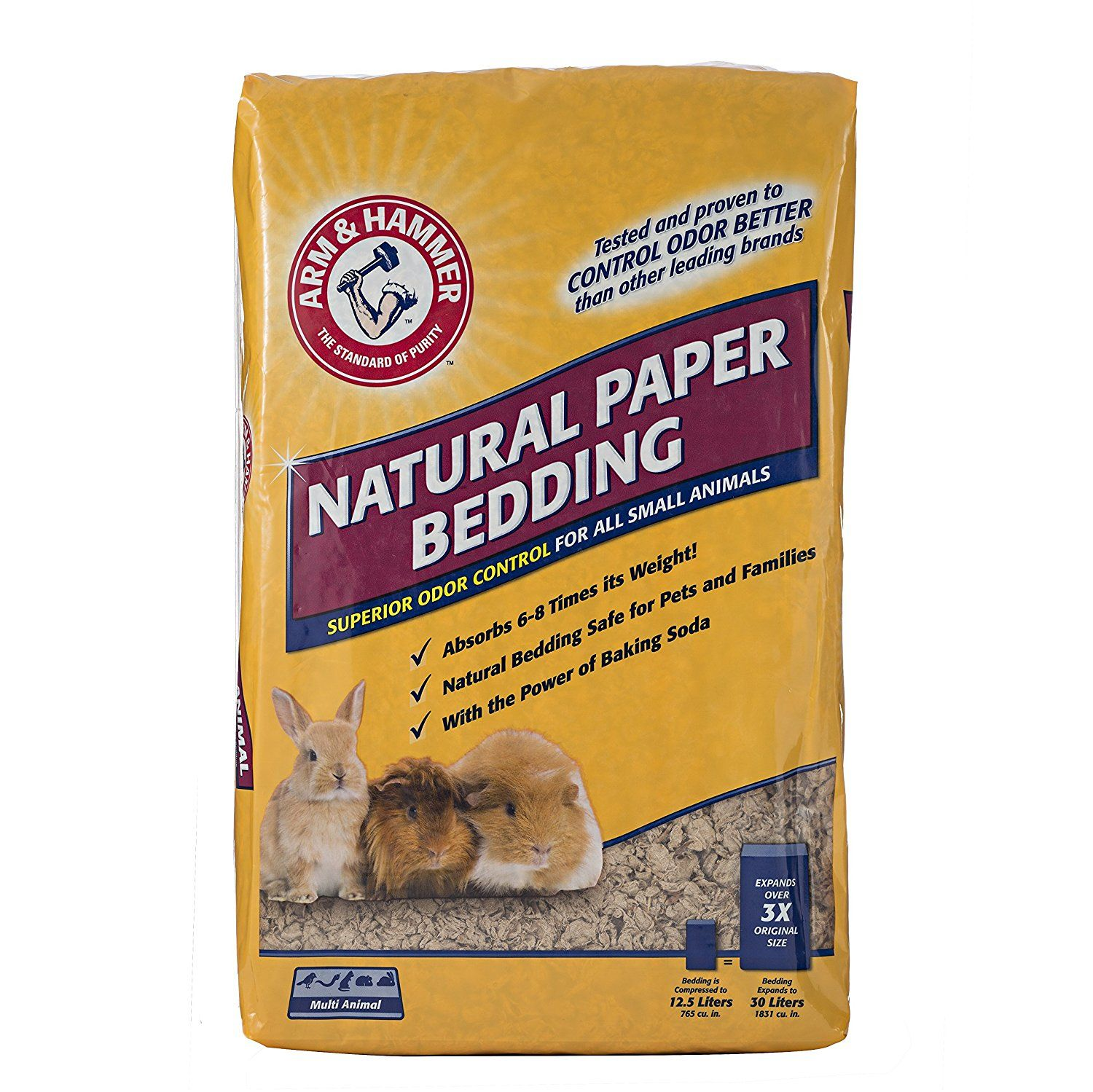 Arm And Hammer Natural Paper Bedding 14 Liters You Can Get More Details By Clicking On The Image This Is An Affiliate Small Pets Small Animal Cage Pets