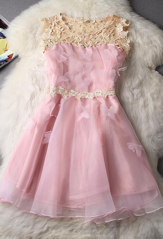 Slim sleeveless organza princess dress | Looks | Pinterest | Ropa ...