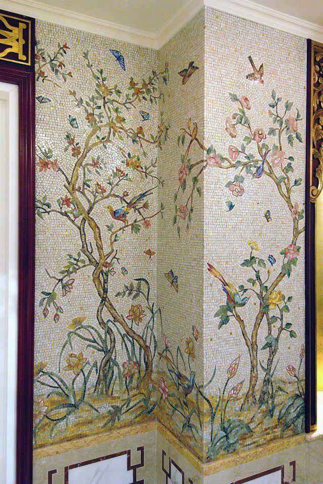 M s de 1000 ideas sobre cuartos de ba o de azulejos de - Azulejos mosaico bano ...