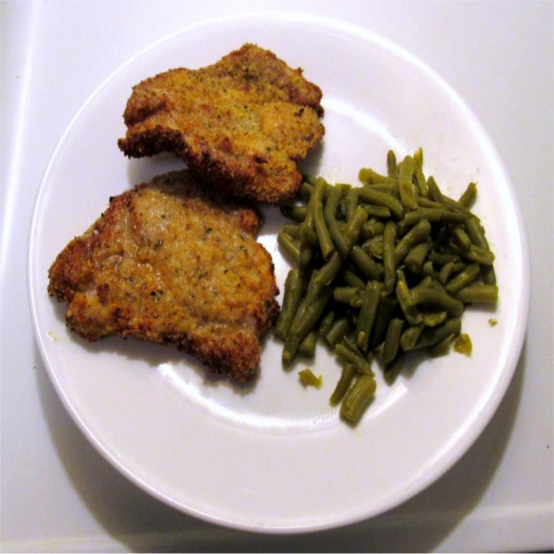 Garlic Parmesan Pork Chops Recipe Air fryer recipes