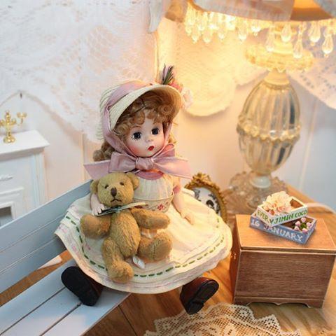 #madamealexander #doll #miniature #마담알렉산더 #인형 #스윗이노센스 사랑스러워~♡