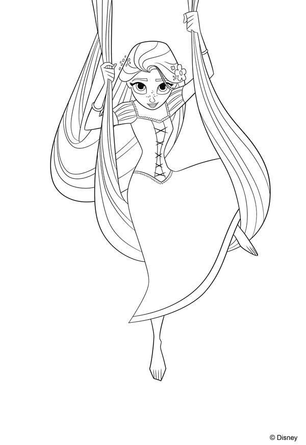 Moana Princesa De Disney Dibujos Colorear
