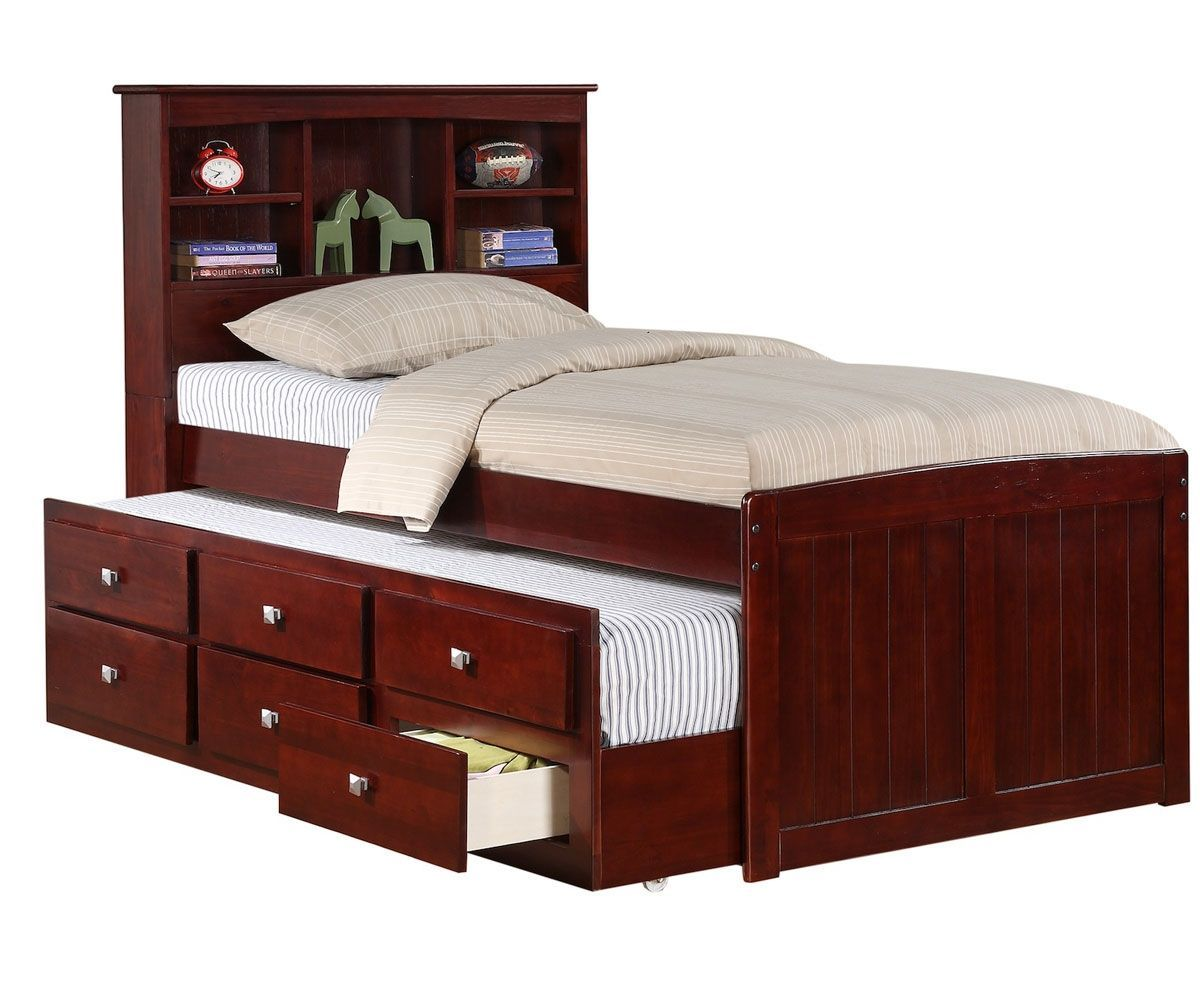 Twin Size Platform Bed with Drawers Plans Platform bed