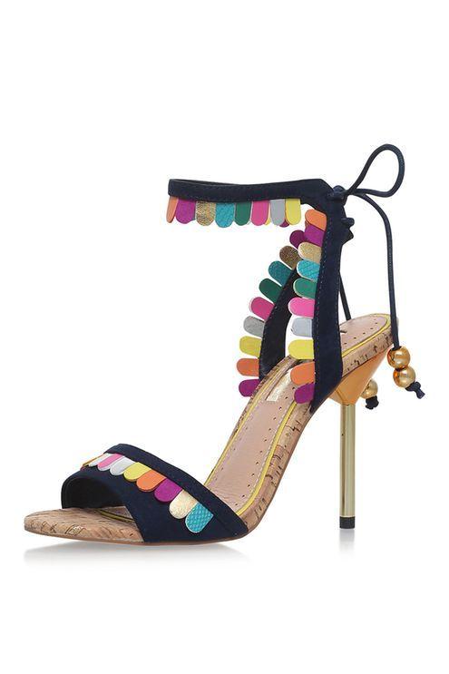 **FREYA Metallic High Heel Sandals by Miss KG | Metallic