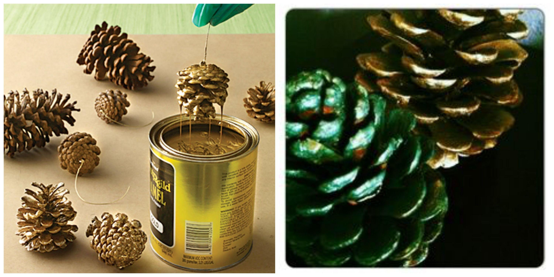 Top 5 ideas para fiestas decorar con pi as de pinos - Decorar pinas naturales ...