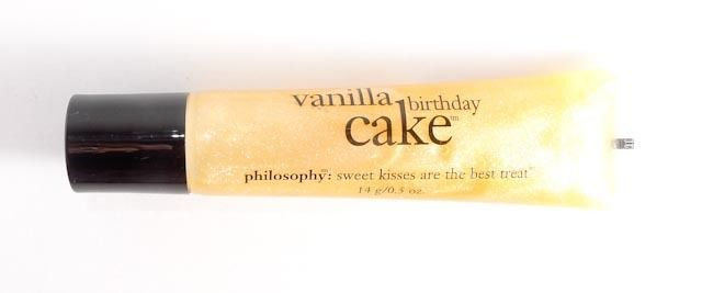 Philosophy Vanilla Birthday Cake Lip Gloss Sealed