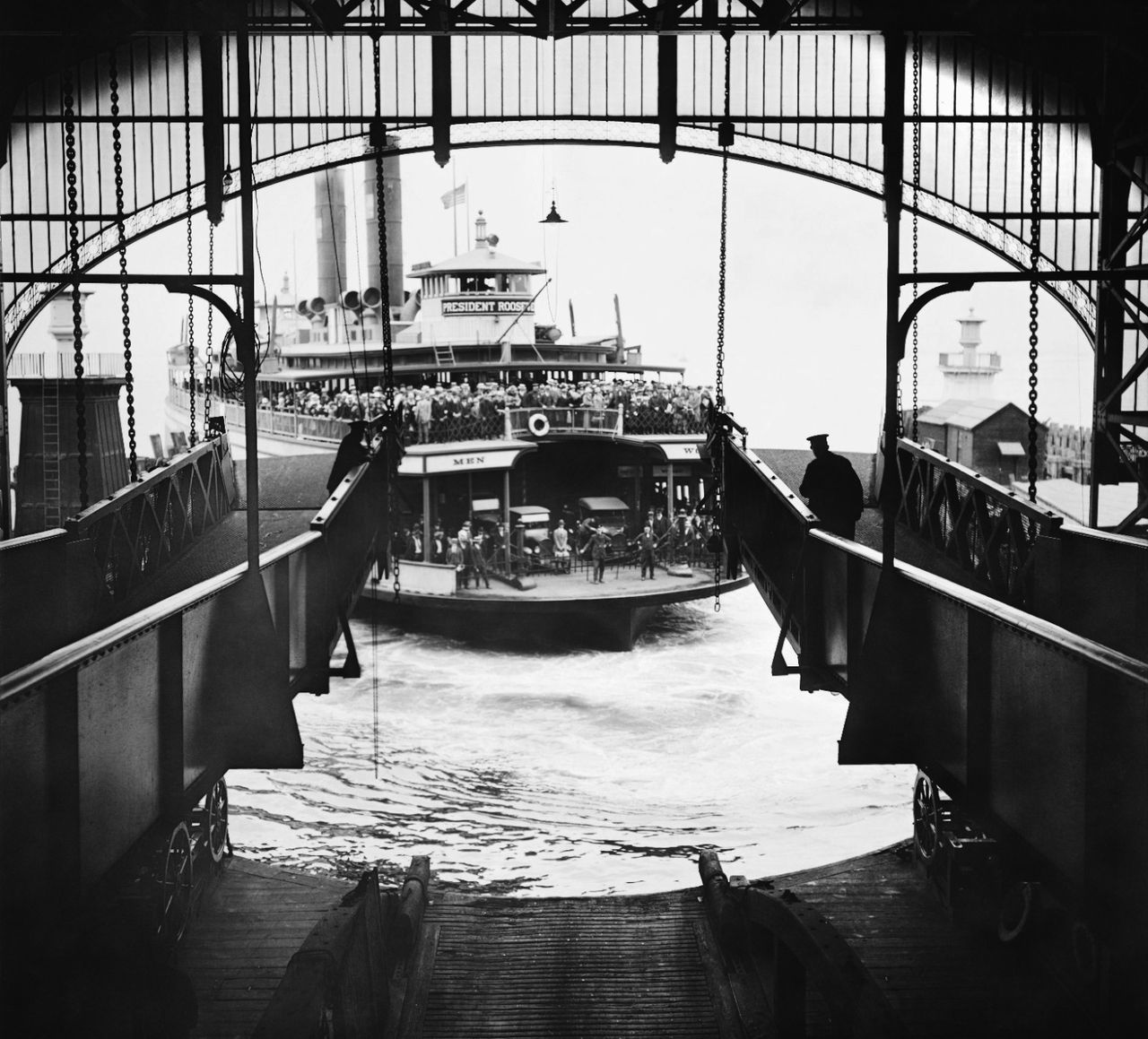 Eugene de Salignac, 1924, Staten Island Ferry Terminal