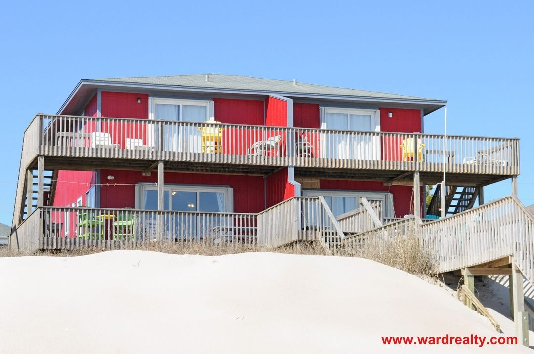 Fins To The Right Left Duplex Pet Friendly Surf City Nc