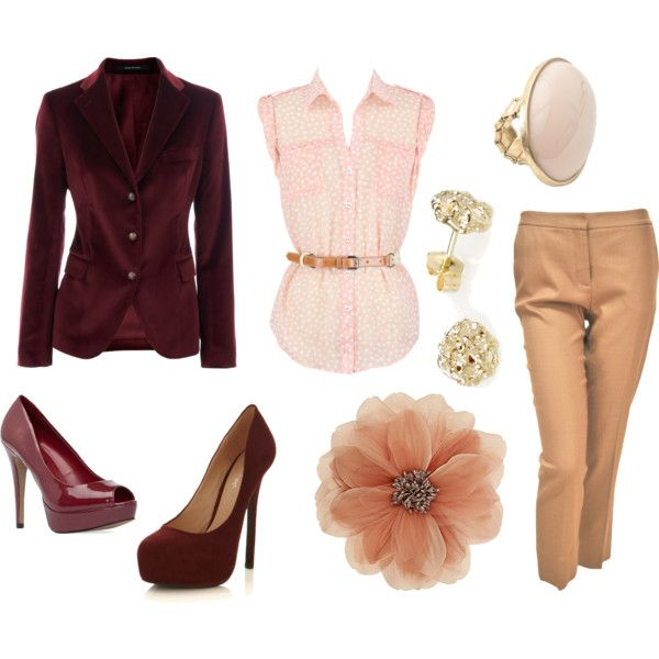 """Soft Rose"" by dancingmoon on Polyvore"