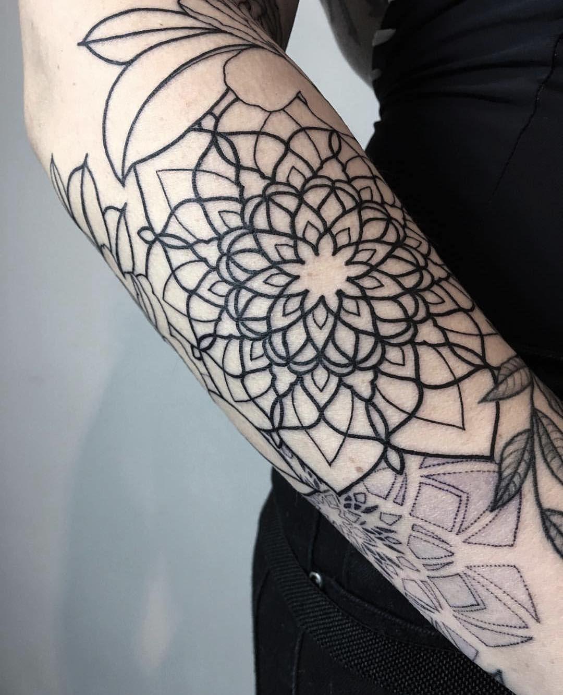 Instagram tattoos mandala tattoo design tattoo artists