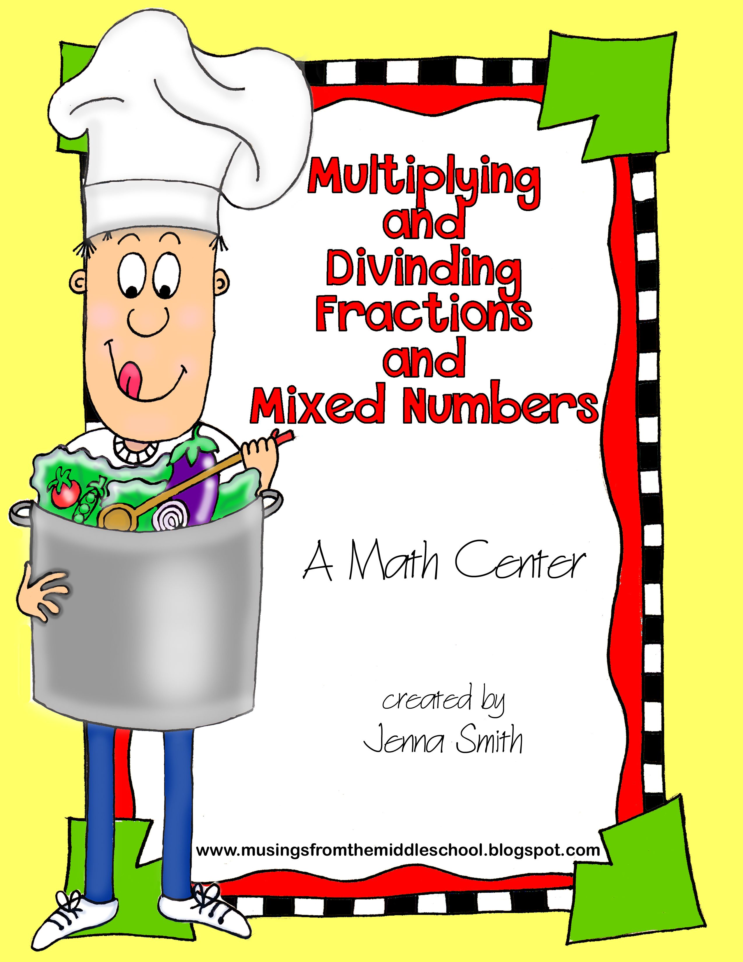 Multiply Mixed Numbers Using Area Models  Fifth Grade  Pinterest   Models, Activities And Watches