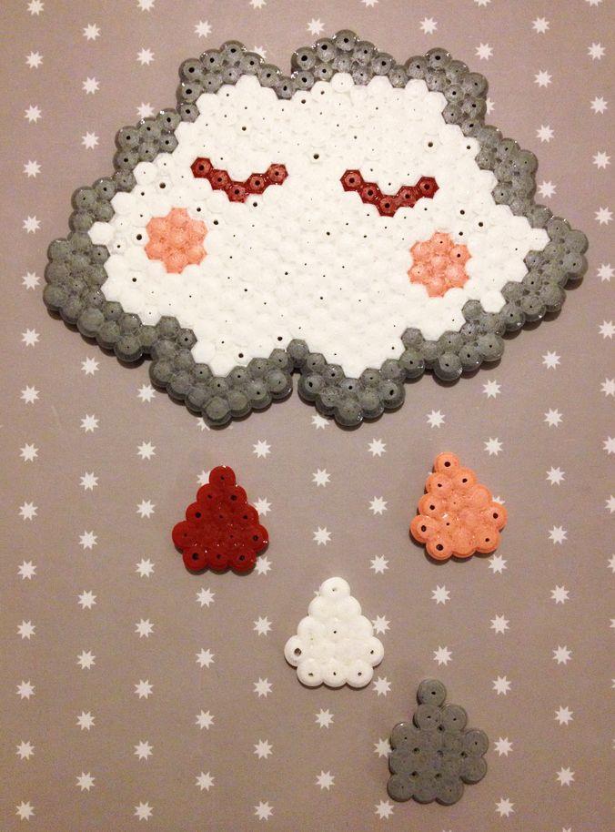 20 id es cr atives r aliser avec des perles hama - Idees creatives chambres feront retomber en enfance ...