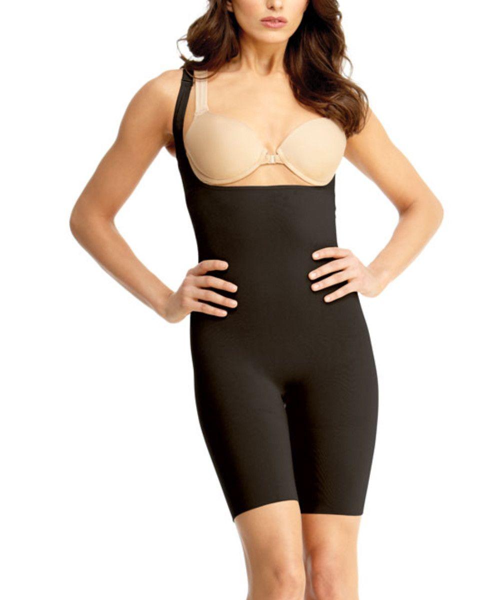 b76e1944c5 MeMoi - Braless Bodysuit w Thigh Shaper  shapewear  leggings  strapless   corsetfemalebodyshaper