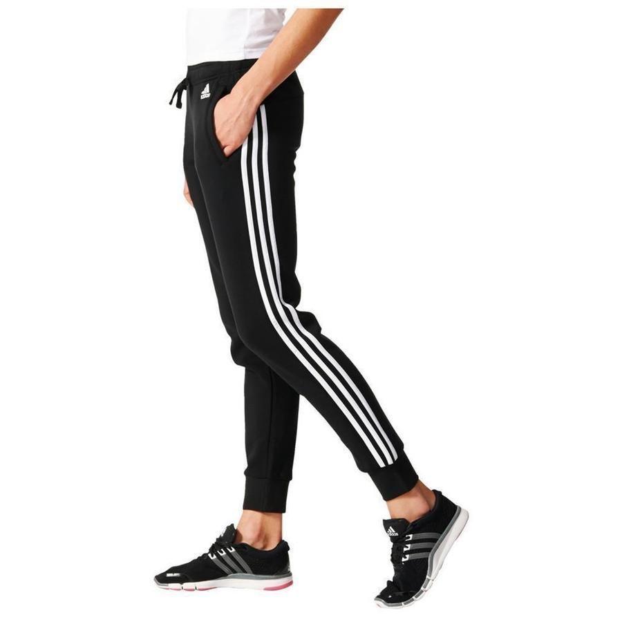 Details about Adidas Essentials 3 Stripe Pants Womens ...