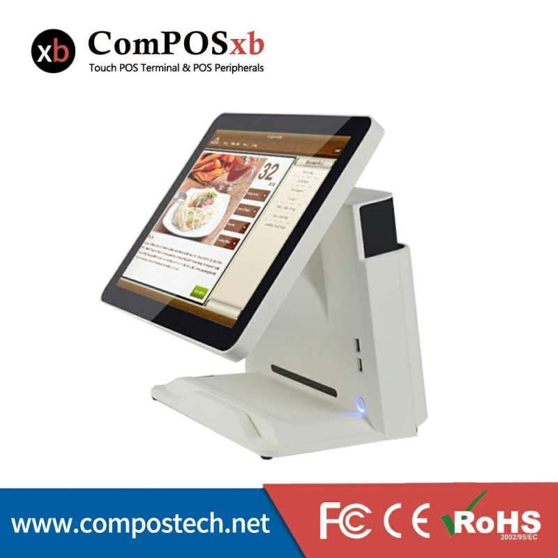 cash register retail restaurant pos all in one PC 15 inch