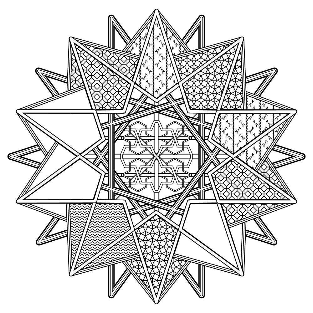 Printable coloring pages etsy - Mandala Printable Coloring Page By Silhouettesshop On Etsy