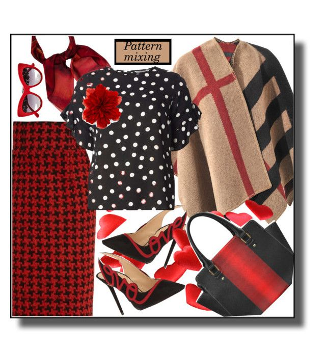 """""""mixed feelings"""" by paperdolldesigner ❤ liked on Polyvore featuring Gucci, Burberry, Charlotte Olympia, Stella Jean, Dorothy Perkins and Dolce&Gabbana"""