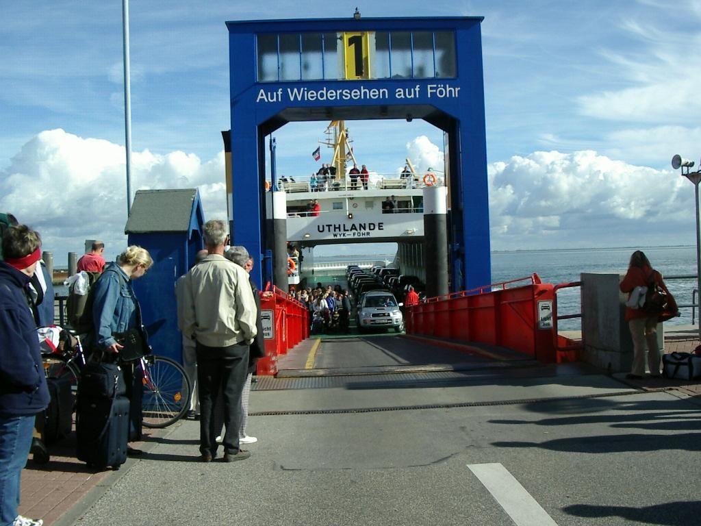 Mädel Wyk auf Föhr