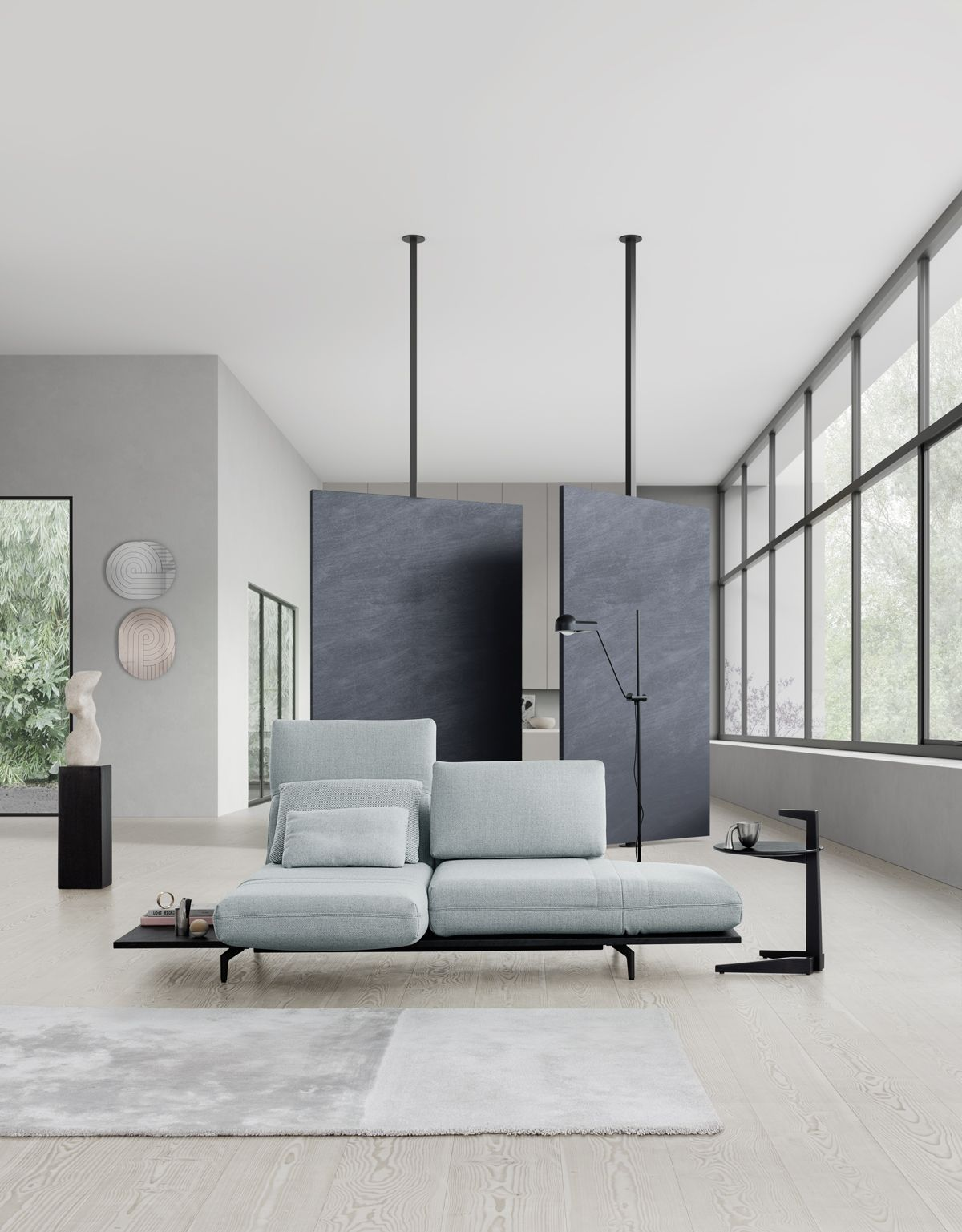 New For The Now The Rolf Benz Aura Sofa With Its Flexibility And Adaptability The New Rolf Benz Aura Sofa Range Fits Perfectly Int Aura Sofa Home Furniture