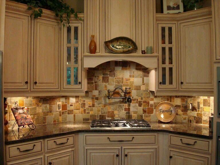 stone copper tiles backsplash | For the Home | Pinterest | Copper ...