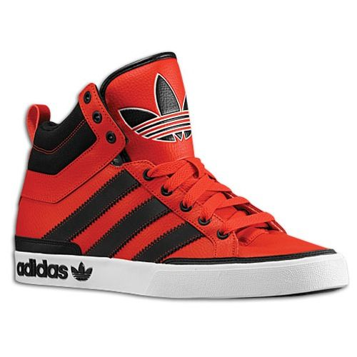 adidas high tops black and red