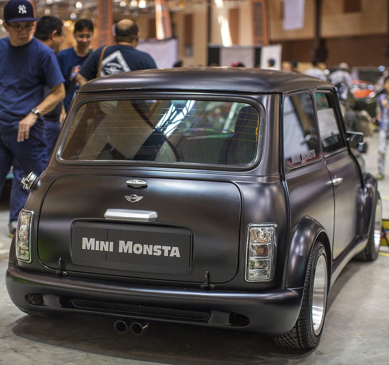 Mini Monsta With Autofashion Designed Majic Bodykit Mii Majic